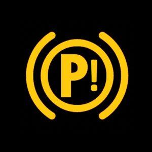 Electronic Parking Brake Warning Index Example